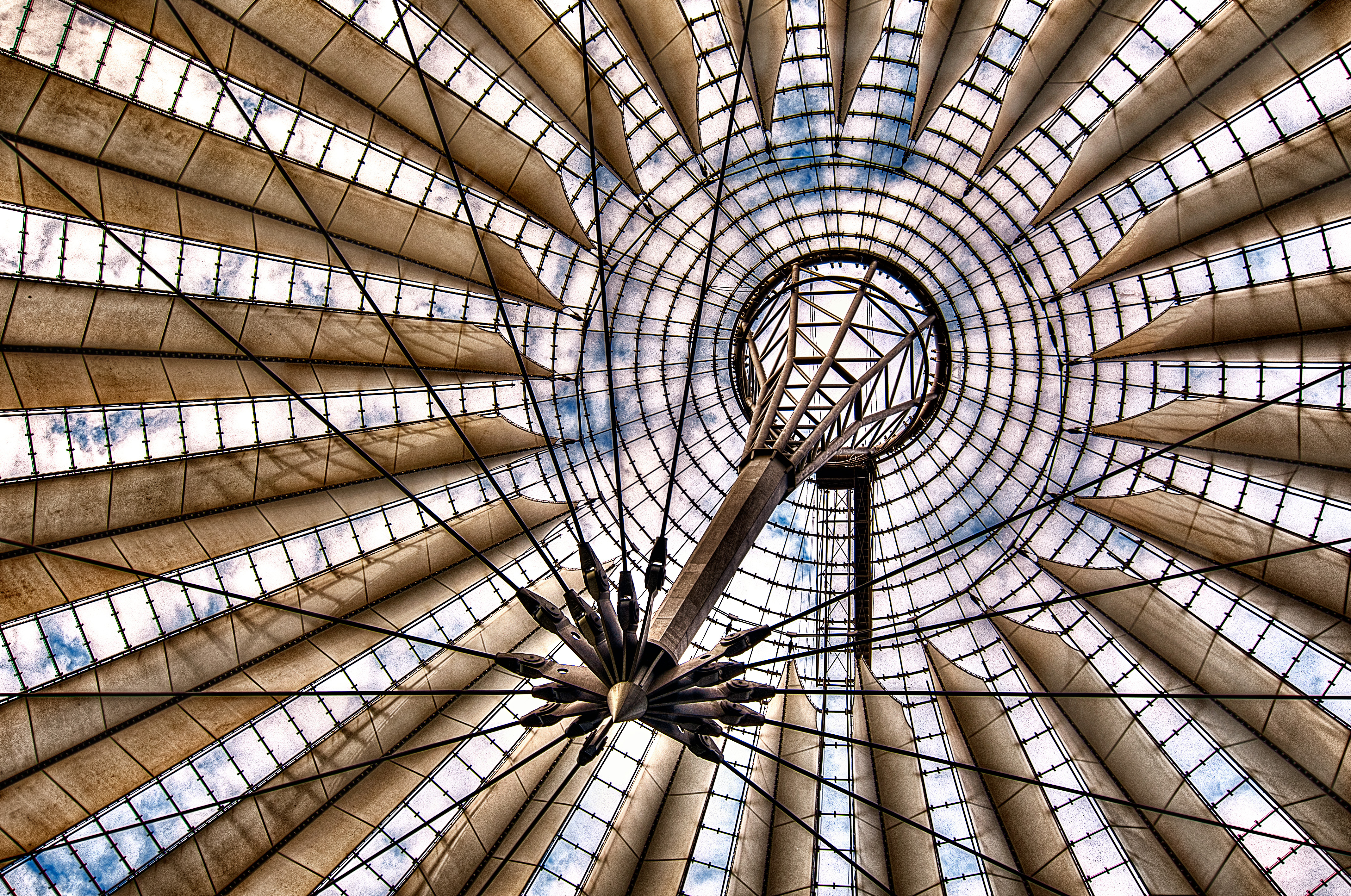 Setting Sails In Berlin - Potsdamer Platz by Sprengben [why not get a friend], on Flickr